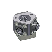 Deflection gear unit 3014