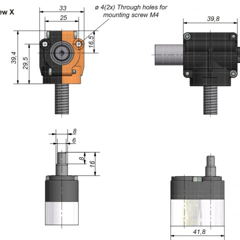 Crank Lifting System Brket Twist 660 3053 Ketterer Antriebe Schematic