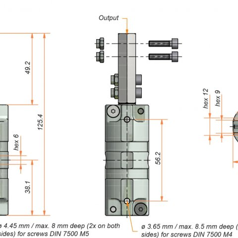 Bevel gear 3057 - Ketterer Antriebe