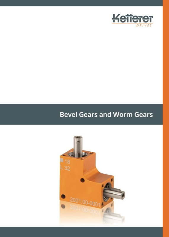 Product brochure Bevel Gears